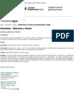 Maranhão - hidrovias e portos