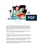 Talks on Swami by Mrs Geeta Mohan Ram