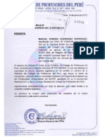 Proyecto de la Nueva Ley del Profesor presentado por el CPPe.