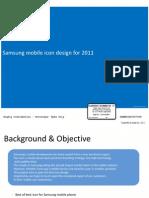 Samsung mobile icon design for 2011