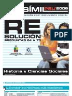 Solucion Ensayo Oficial Historia Demre 2006 Parte IV