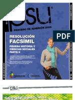 Solucion Ensayo Oficial Historia Demre 2008 Parte II.I