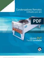 BCT 018 7150B Condensadores Remotos Enfriados Por Aire DVT