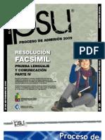 Solucion Ensayo Oficial Lenguaje Demre 2008 Parte IV.I