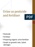 Urine as Pesticide and Fertilizer