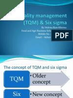 TQM & Six Sigma