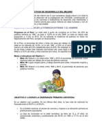 Objetivos de Desarrollo Del Milenio - Final