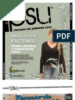 Solucion Ensayo Oficial Lenguaje Demre 2009 Parte I