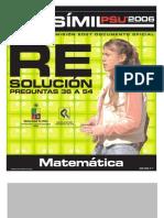 Solucion Ensayo Oficial Matematica Demre 2006 Parte III