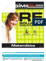 Solucion Ensayo Oficial Matematica Demre 2006 Parte IV