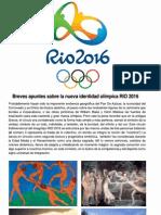 Notas semiológicas sobre la marca RIO2016