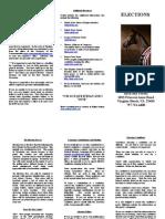 Brochure ~ Elections