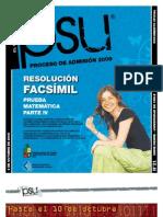 Solucion Ensayo Oficial Matematica Demre 2008 Parte IV.I