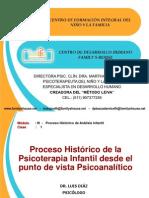 1era. Clase - Proceso Historico de Analisis Infantil - Dr. Luis Diaz 20 01 12