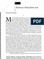 Olafson - Philosophy Between Naturalism and Humanism