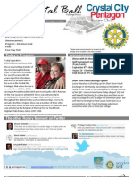 Aug 15, 2012 Weekly Bulletin - Crystal City-Pentagon Rotary Club