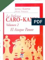 Caro Kann Vol 2 - Anatoly Karpov