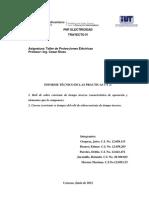 Informe de las prácticas 1 y 2
