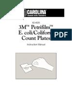 3M Petrifilm Ecoli