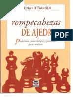 Leonard Barden - 300 Rompecabezas de Ajedrez