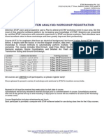 ETAP in Training Schedule 2012 Registration Form