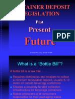 Bottle Bills Information