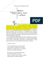 Lara Gladys__Bolero, Amor Texto y Cultura