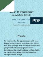 Ocean Thermal Energy Convertion (OTEC)