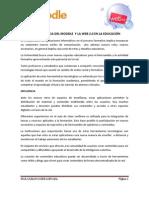 LA IMPORTANCIA DEL MOODLE  Y LA WEB 2,0 EN LA EDUCACIÓN