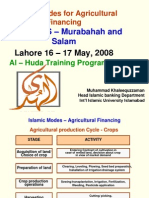 AlHuda Islamic Modes Agricultural Financing 20-10-2008-Lahore