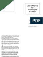 PS30000-29fManual