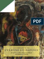 a Companion to US Latino Literatures Monografias a Monograf as a