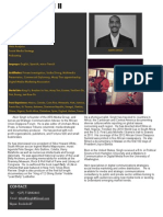 Alvin Singh Biography/ Special Skills