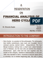 Finacial Analysis 111111