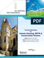 Training Workshop on Islamic Housing, REITS and Construction Finance
