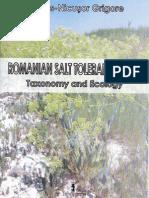Romanian Salt Tolerant Plants. Taxonomy and Ecology. Marius-Nicusor Grigore