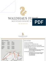 Präsentation Waldhaus Flims