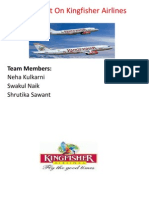 A Project on Kingfisher Airlines
