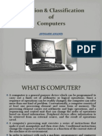 Evolution and classification of computers
