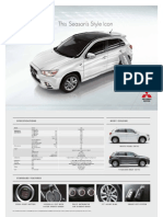 Mitsubishi Asx-euro Limited Edition Brochure Lo Res