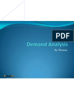 Demand Analysis Review