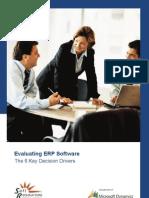 ERP 6 KeyDecisionDrivers