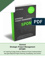 General Strategic Project Management SPOMP_PDF Summary