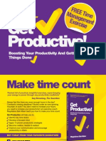 Time-management exercise from Get Productive!