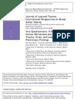 Pérez Sales et al (2012) VIVO JLT