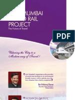 CIDCO Navi Mumbai Metro Brochure dated 23 Jan 2012