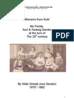 Suhl - Sander Family Memoirs En