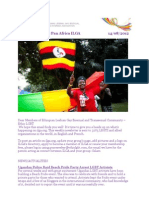 Pan Africa ILGA News Letter -Aug 14