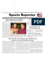 August 15 - 21, 2012 Sports Reporter
