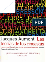 AUMONT, Jacques - Las Teorías de los Cineastas